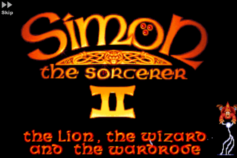 Screenshot Simon the Sorcerer 2: El león, el mago y el armario